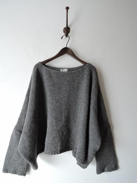 ジャーナルスタンダードLUXE *ウール混ワイドセーター*幅広0215_画像1
