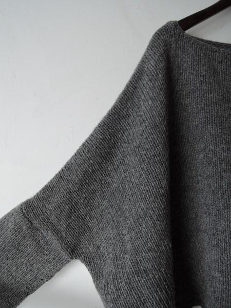 ジャーナルスタンダードLUXE *ウール混ワイドセーター*幅広0215_画像2