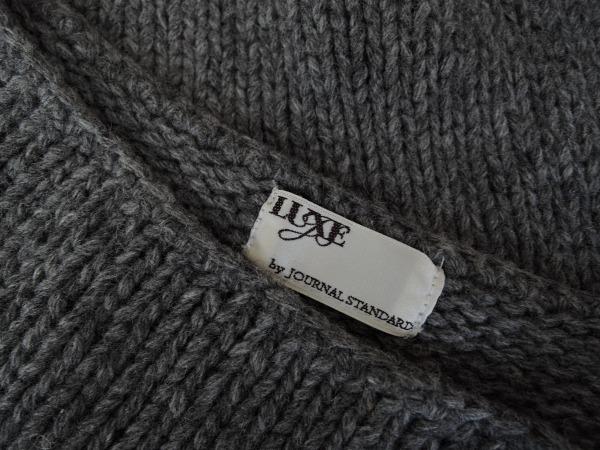 ジャーナルスタンダードLUXE *ウール混ワイドセーター*幅広0215_画像4