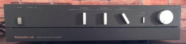 【Technics/SU-A4】Stereo DC Control Amplifier 取扱説明書付き_画像1