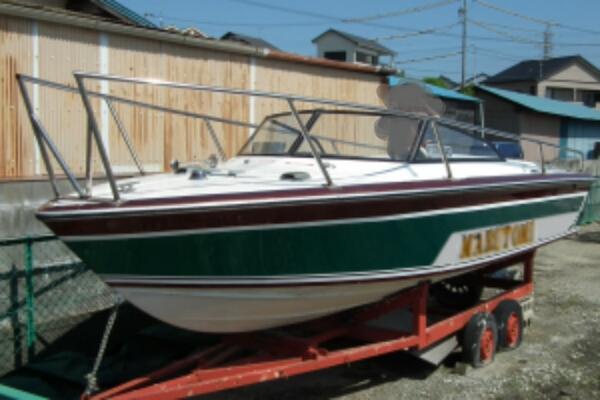 モーターボート140PSトレーラー付き_画像1