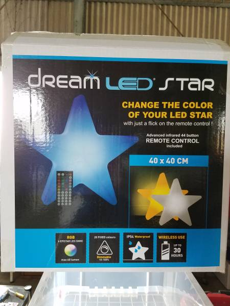 LED DREAM STAR Color Changing Accessory 40×40_画像2