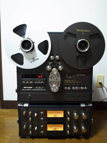 Technics RS-1800 最高級オープンリールデッキHighest class product reel to reel tape recorder_画像1