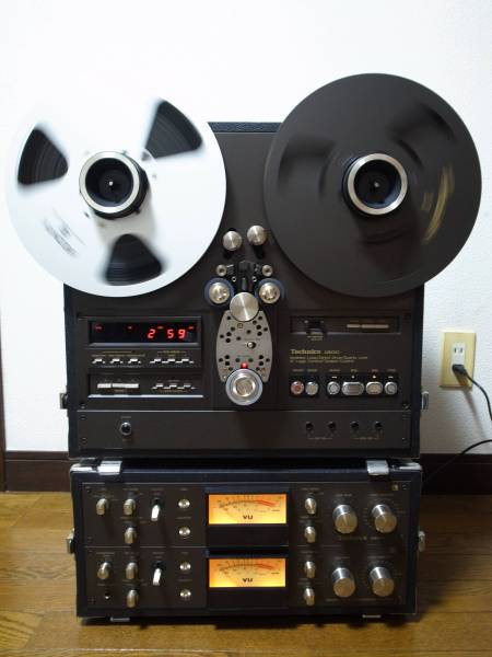 Technics RS-1800 最高級オープンリールデッキHighest class product reel to reel tape recorder_画像2