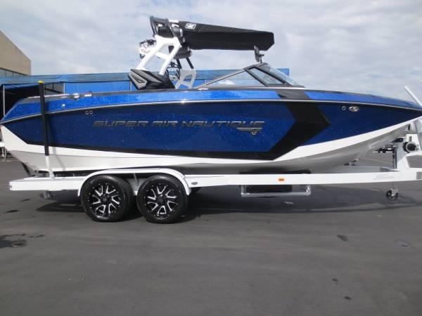 消費税込!!最高のトーイングボート!!2017'NAUTIQUE G23 新艇(ブルーフレーク)_画像1
