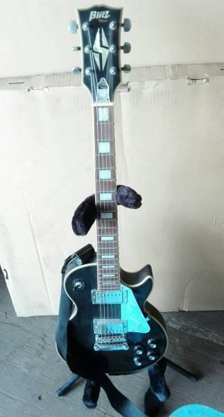 ARIA PRO II エレキギター Blitz スタンド付き_画像1