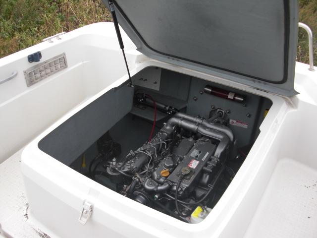 ヤンマーディーゼル ドライブ EF23Z -1S  EZトレーラ付_画像6