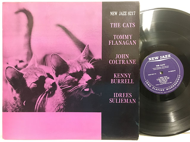 ■即決 Tommy Flanagan / the Cats RVG/MONO 紫_画像1