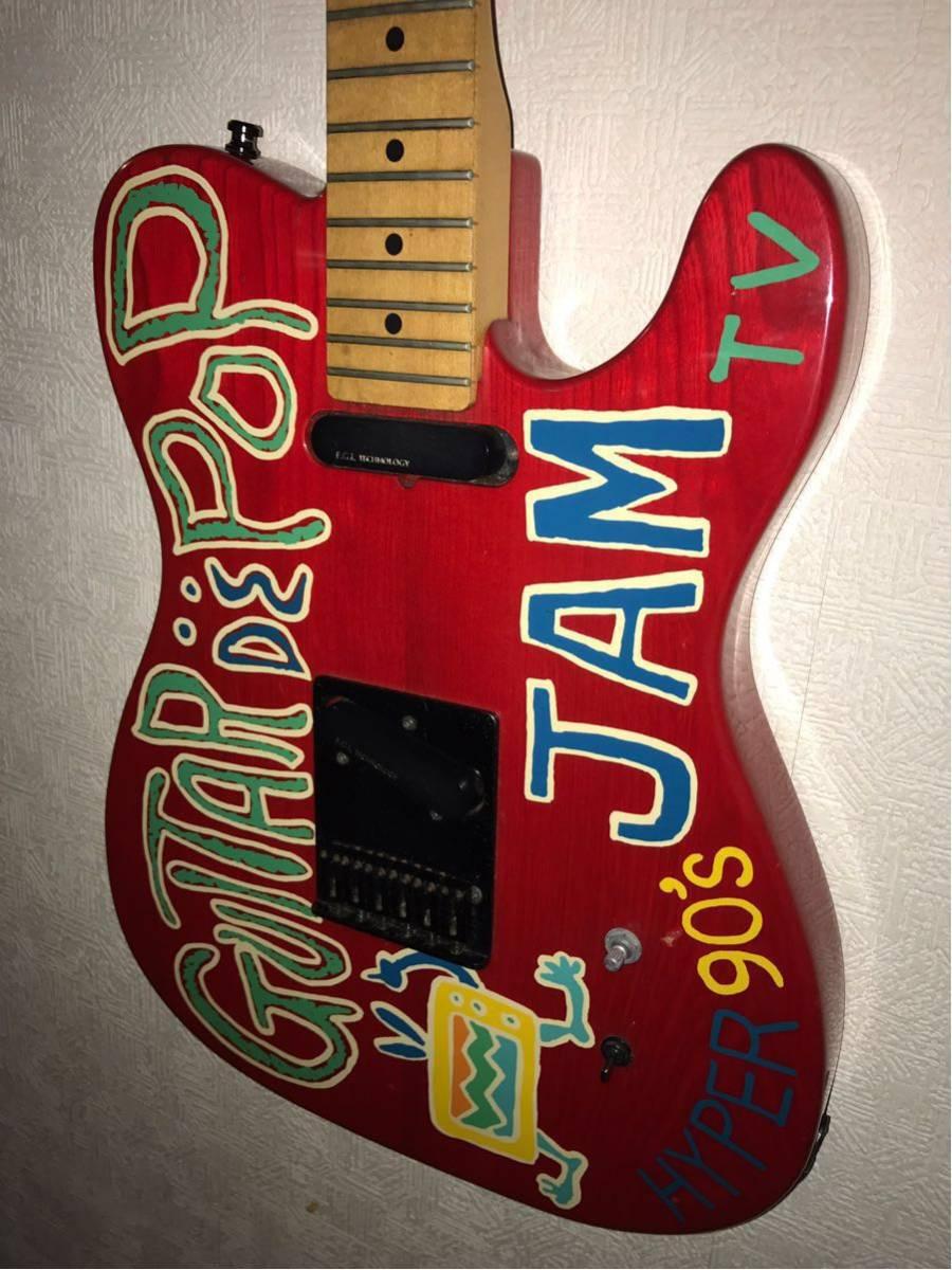 ★FERNANDES★TE-95T RED JUDY&MARY TAKUYAモデル テレキャスター_画像1