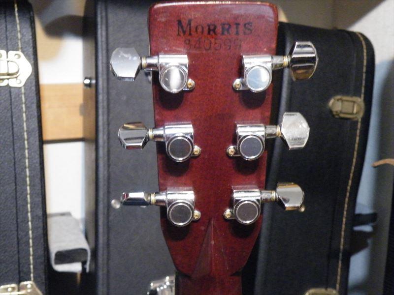 ビンテージ★Morris W50★Top単板 前期型よく鳴る_画像4
