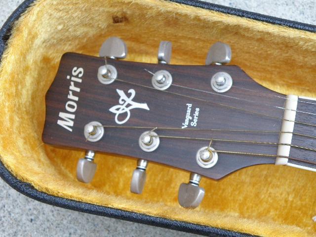 Morris MV-701 モーリス ギター アコースティックギター ハードケース付_画像3