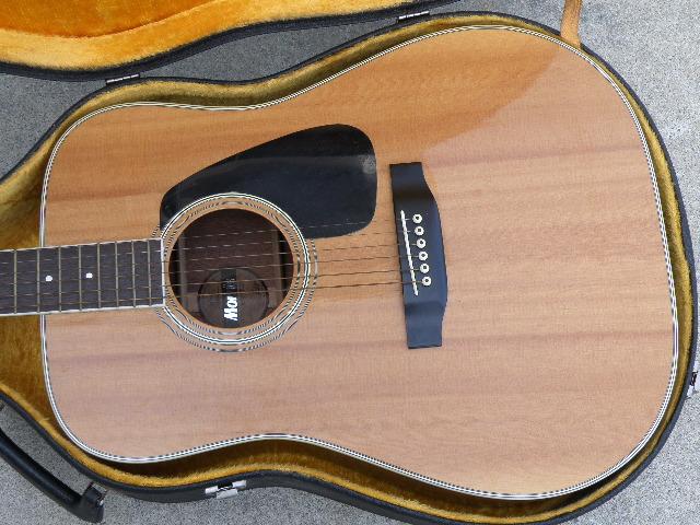 Morris MV-701 モーリス ギター アコースティックギター ハードケース付_画像2