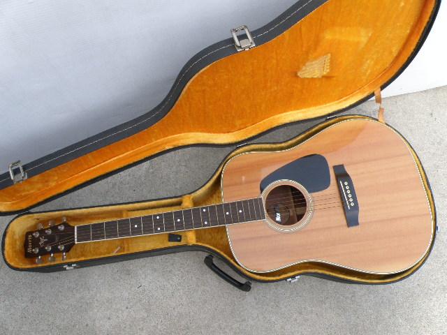 Morris MV-701 モーリス ギター アコースティックギター ハードケース付_画像1