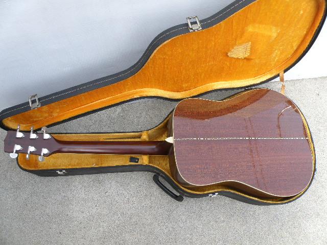 Morris MV-701 モーリス ギター アコースティックギター ハードケース付_画像7