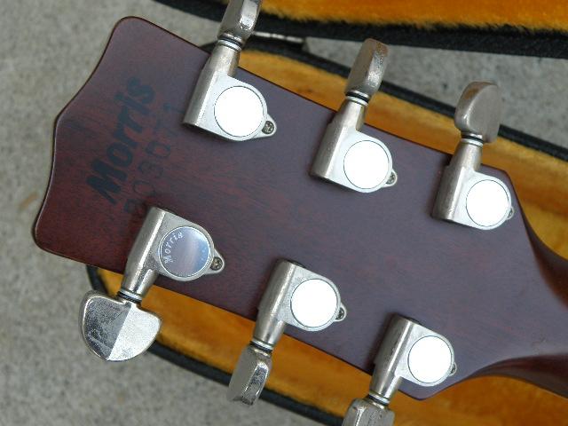 Morris MV-701 モーリス ギター アコースティックギター ハードケース付_画像9