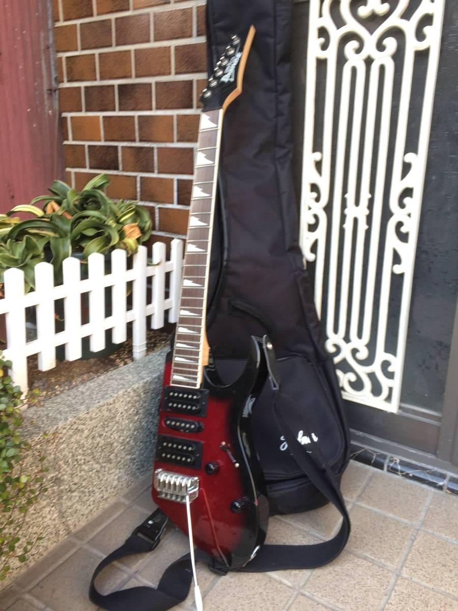 ジャンク・アイバニーズ改造ギター 2.6kg軽量_画像1