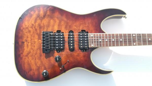 Ibanez RG series アイバニーズ エレキギター エレキ ギター ソフトケース付き 中古 USED_画像2