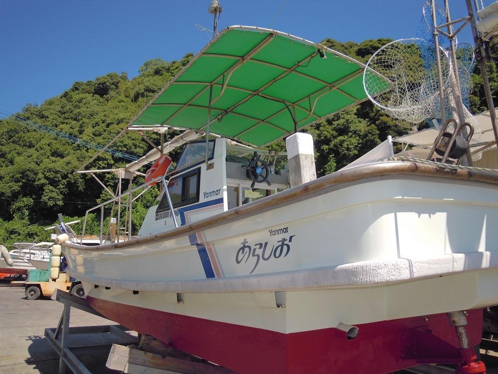 ヤンマーDE26Fシャフト船 あらしお _画像3