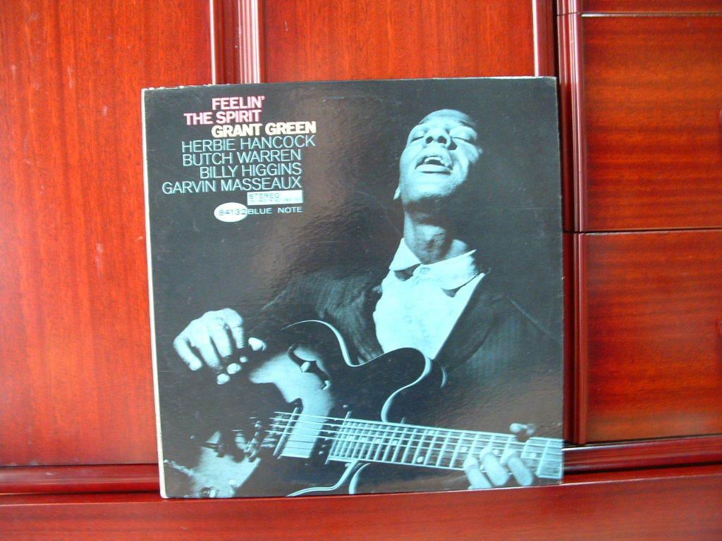 【激レア極美盤NM】GRANT GREEN / Feelin' The Spirit (NY,Van Gelder,Herbie Hancock,Blue Note)_画像1