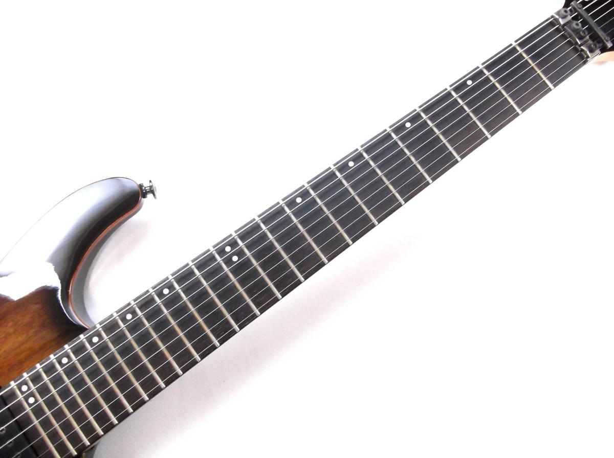 レア Ibanez Prestige S5527 7弦 日本製 アイバニーズ Fujigen フジゲン プレステージ ハードケース付き_画像4