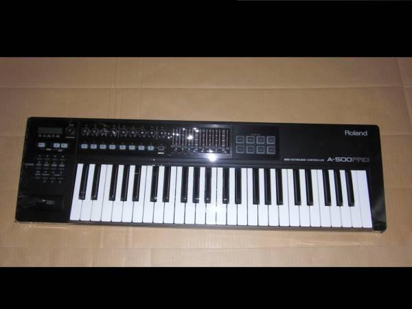 Roland A-500 PRO 極上美品! 49鍵盤! 高級機種! MIDI KEYBOARD キーボード コントローラー DTM ローランド シンセサイザー SYNTHESIZER _画像1