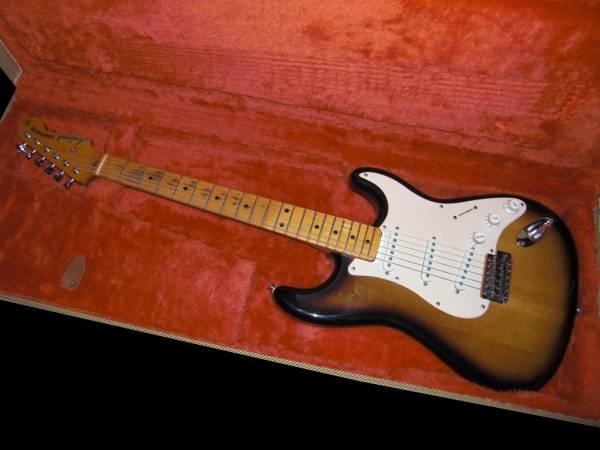 交換可●Aria STAGECASTER 玉杢 ストラト 日本製 アリア Fender_画像1