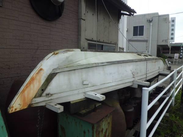 和船 木造ボート 長さ5m 定置網 漁 釣り 福岡県行橋市_画像1
